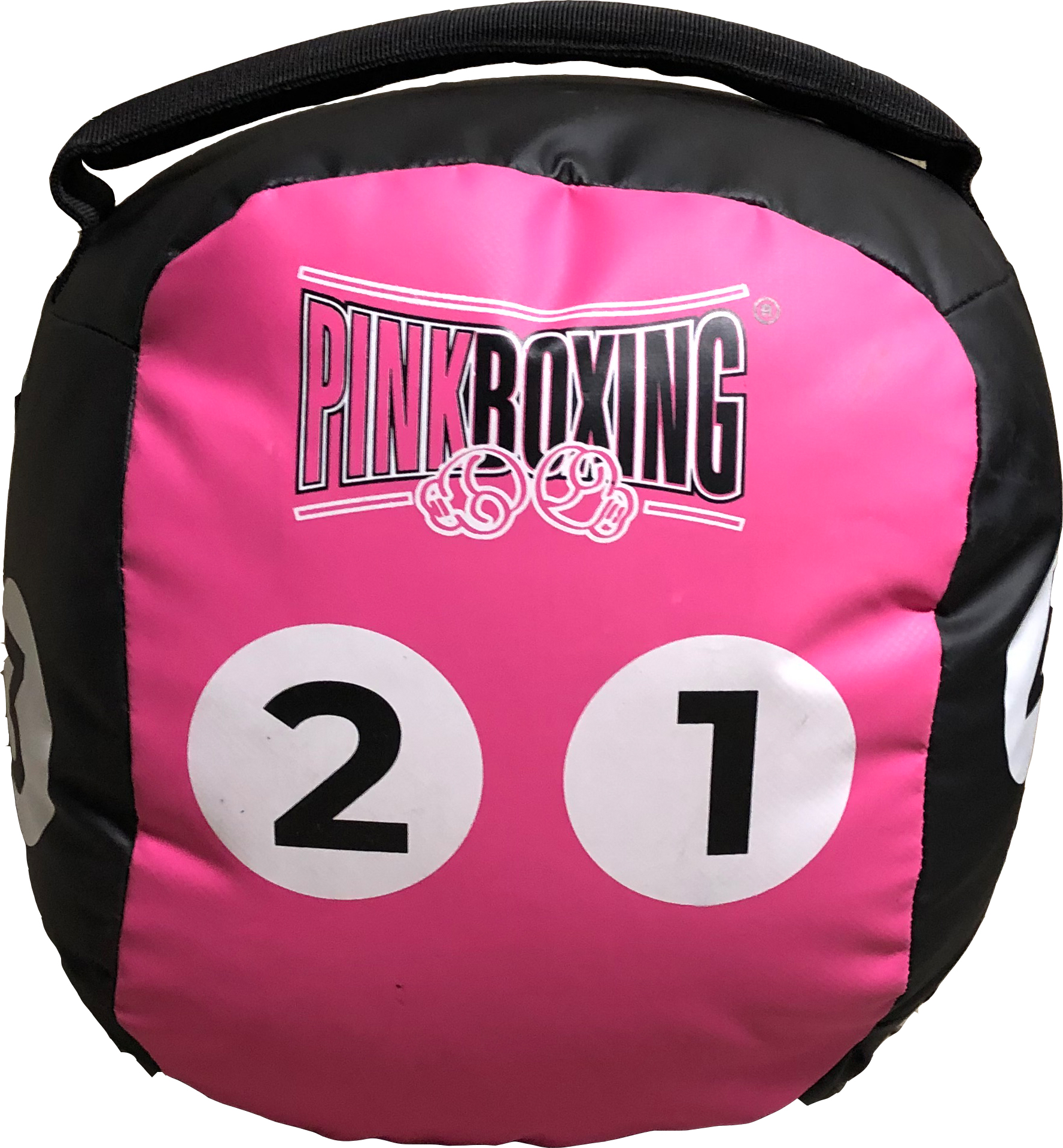 Pink Boxing Ball 8kg
