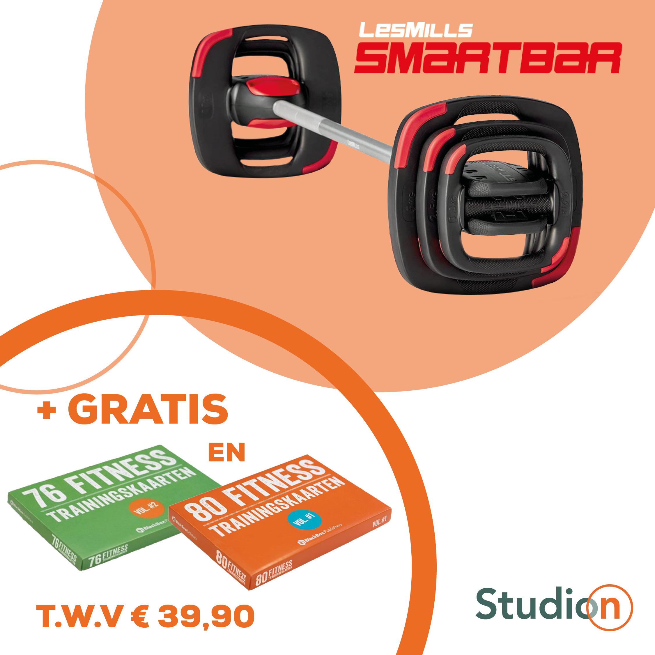 SMARTBAR 2.0 Set Inclusief Trainingskaarten