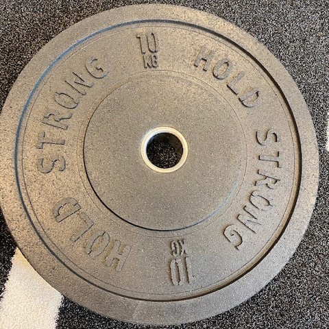 Hold Strong Bumperplates